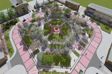 Plaza de Armas de Combarbalá 2018