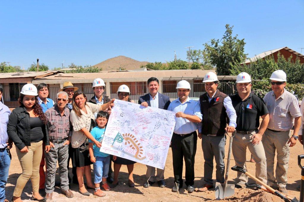 Lucharon 15 años llegó la hora de iniciar las construcciones en Villa los Bugueños 2018.