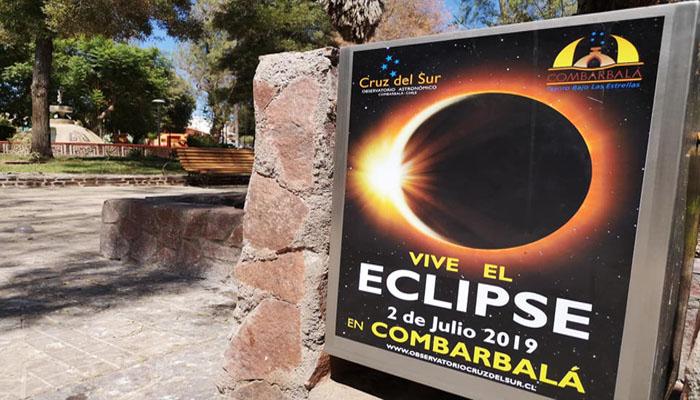 Combarbalá INVITA Eclipse solar 02 de julio del 2019.