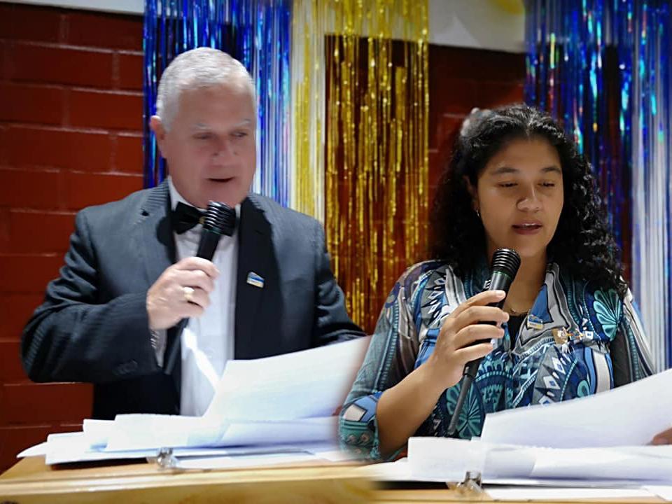 Dos nuevos socios tiene Rotarios de Combarbalá 2019.
