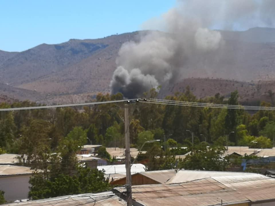 Debemos prevenir los incendios en la comuna de Combarbalá este año 2020.