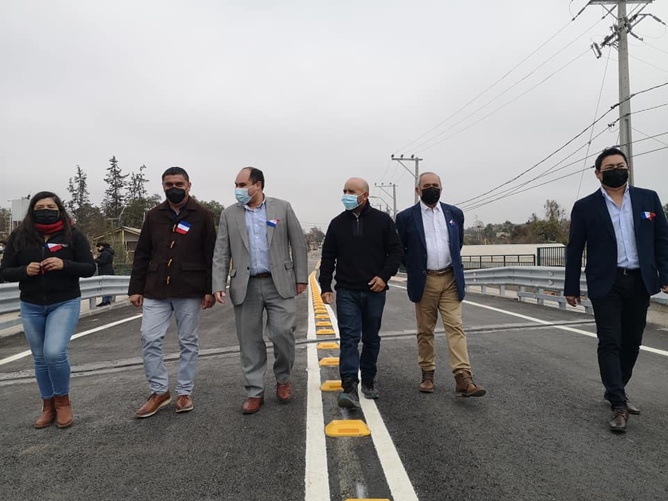 Fue para algunos el puente olvidado mientras que la mayoría espero y ya es realidad se inauguro el puente en Manquehua.