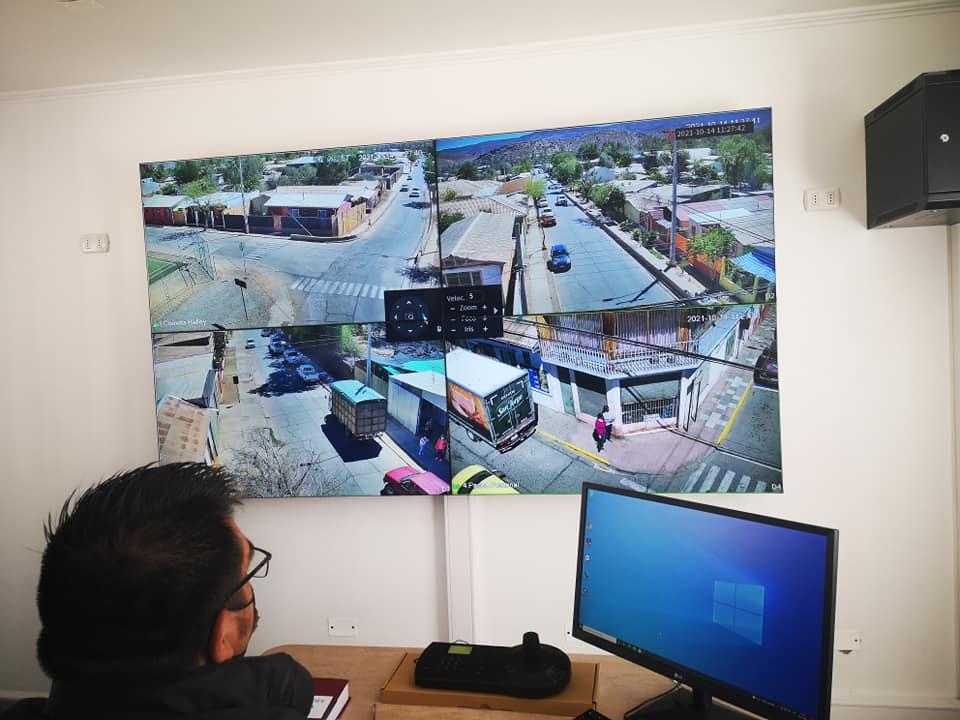 Tele vigilancia en el casco antiguo de Combarblá 2021 las 24 horas.